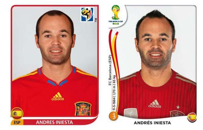 Ποδοσφαιριστές του Mundial: Τότε και τώρα (14)