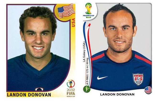 Ποδοσφαιριστές του Mundial: Τότε και τώρα (16)