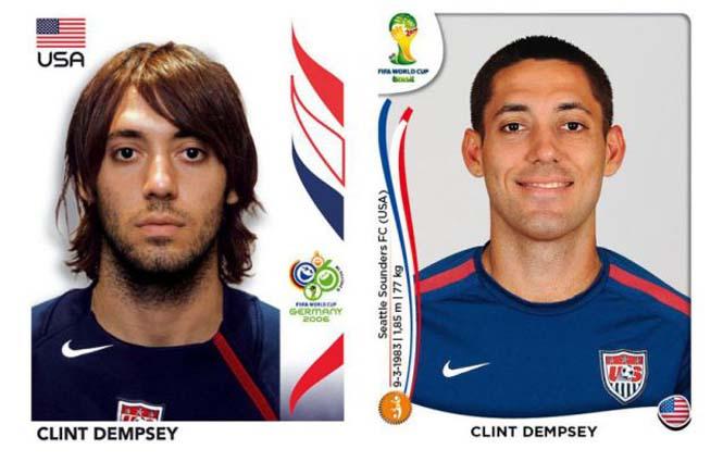 Ποδοσφαιριστές του Mundial: Τότε και τώρα (17)