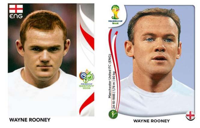Ποδοσφαιριστές του Mundial: Τότε και τώρα (18)