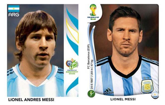 Ποδοσφαιριστές του Mundial: Τότε και τώρα (19)