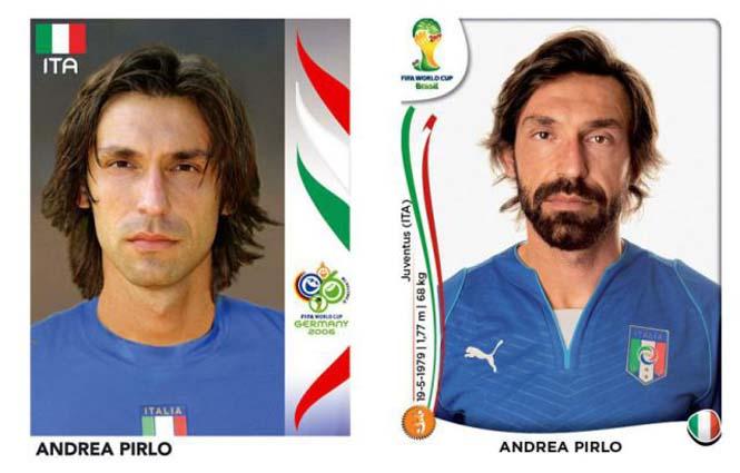 Ποδοσφαιριστές του Mundial: Τότε και τώρα (20)