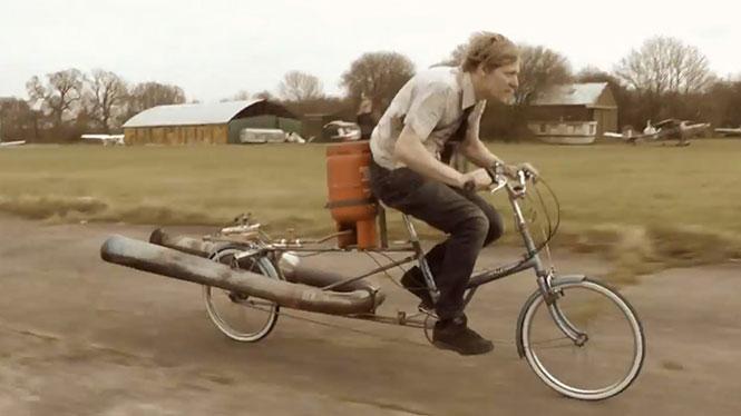 Πυραυλοκίνητο ποδήλατο