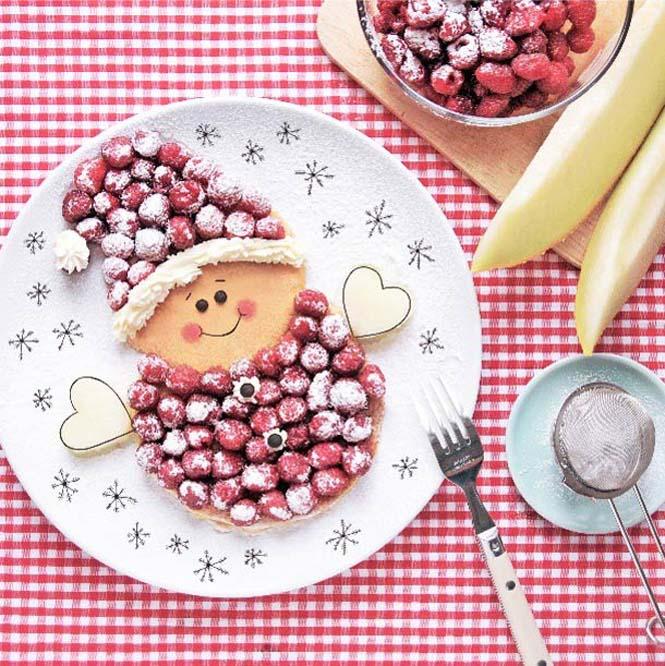 Τέχνη με φαγητό από την Daryna Kossar (2)