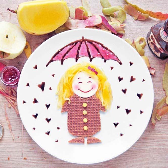 Τέχνη με φαγητό από την Daryna Kossar (4)