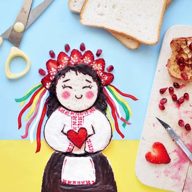 Τέχνη με φαγητό από την Daryna Kossar (20)