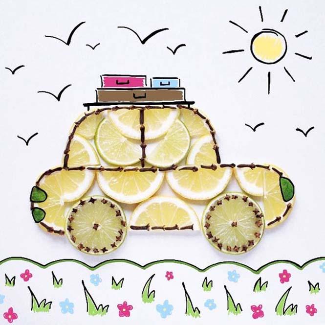 Τέχνη με φαγητό από την Daryna Kossar (21)