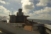 Βύθιση πλοίου όπως φαίνεται από μέσα