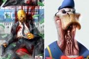 Εικόνες που σοκάρουν: Χαρακτήρες καρτούν ως εγκληματίες ή δαίμονες