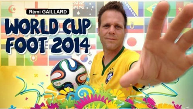 Ο Remi Gaillard γιορτάζει το Mundial με 32 απίστευτα κόλπα