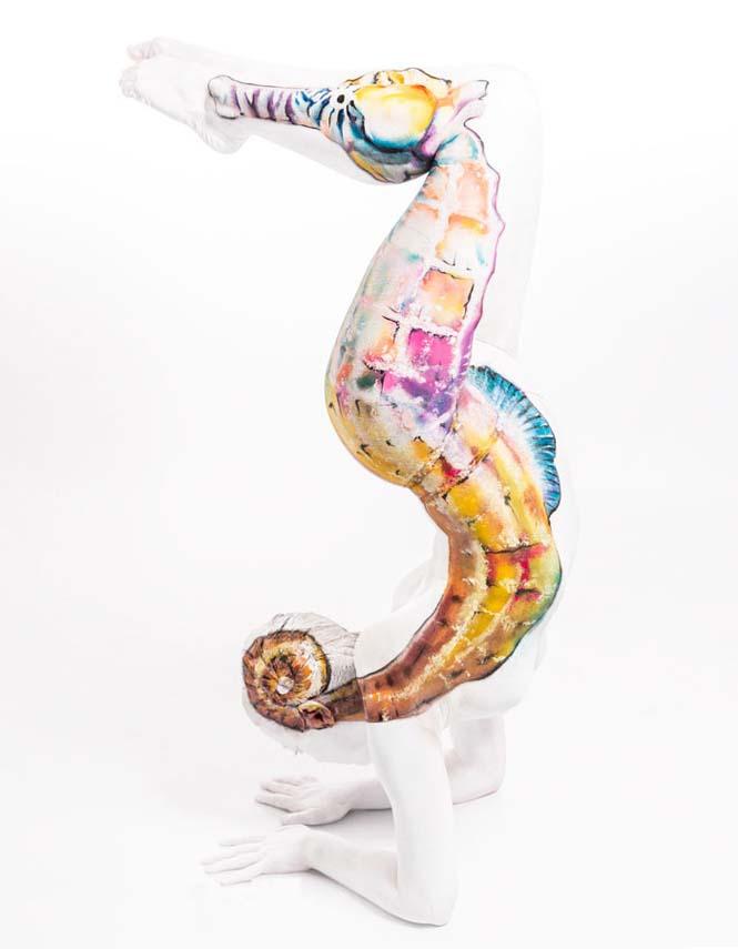 Άνθρωποι μεταμορφώνονται σε ζώα με την τέχνη του body painting (5)