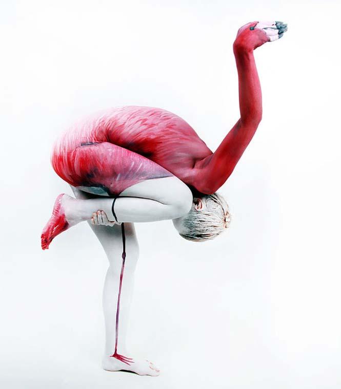 Άνθρωποι μεταμορφώνονται σε ζώα με την τέχνη του body painting (6)