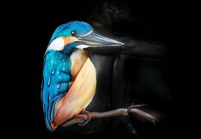 Άνθρωποι μεταμορφώνονται σε ζώα με την τέχνη του body painting (7)