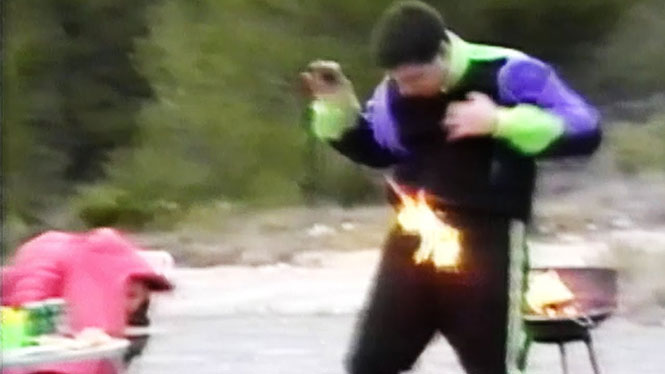 Άνθρωποι που δεν θα έπρεπε ποτέ να παίξουν με τη φωτιά