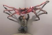 Απίστευτα 3D έργα τέχνης που ξεπηδούν από τον τοίχο (1)