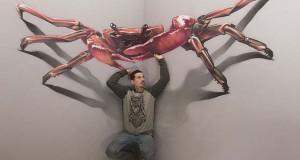 Απίστευτα 3D έργα τέχνης που ξεπηδούν από τον τοίχο