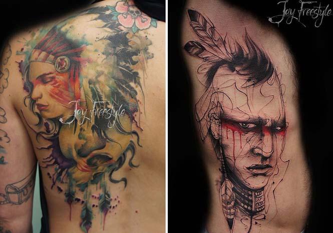 Απίστευτα freestyle τατουάζ (12)