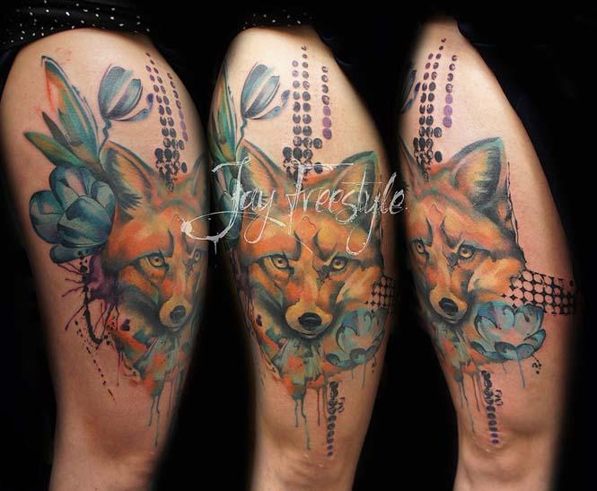 Απίστευτα freestyle τατουάζ (3)