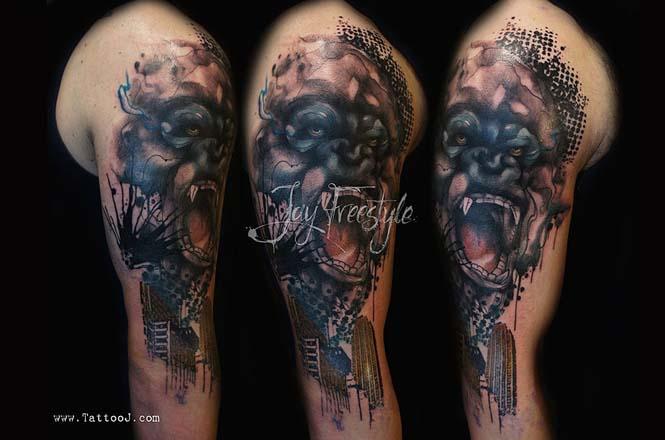 Απίστευτα freestyle τατουάζ (6)
