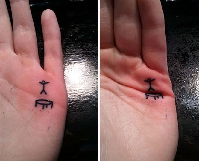 Δημιουργικά τατουάζ που αλληλεπιδρούν με το σώμα! (2)