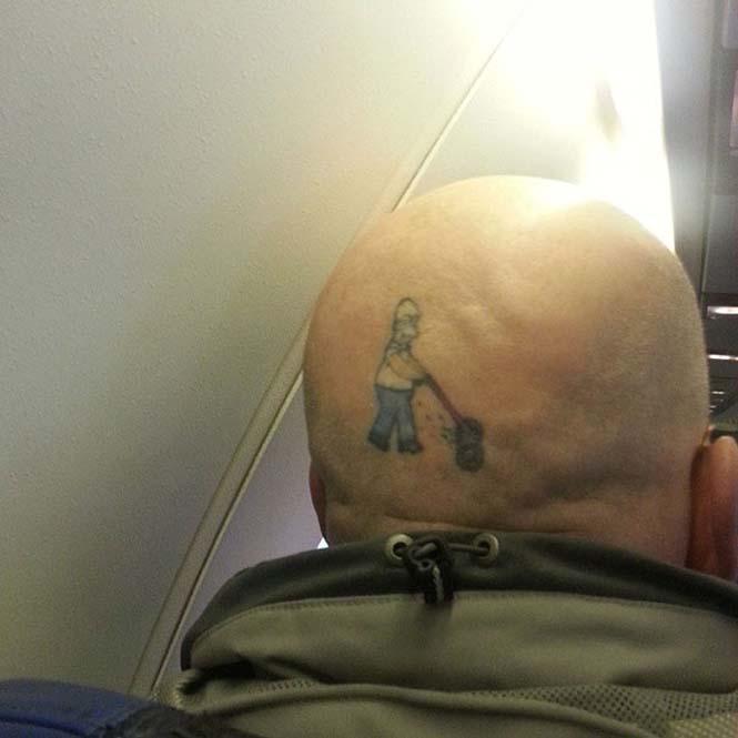 Δημιουργικά τατουάζ που αλληλεπιδρούν με το σώμα! (6)