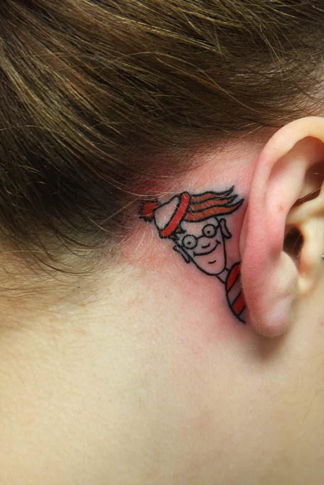 Δημιουργικά τατουάζ που αλληλεπιδρούν με το σώμα! (12)