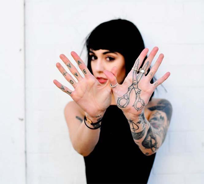 Δημιουργικά τατουάζ που αλληλεπιδρούν με το σώμα! (13)