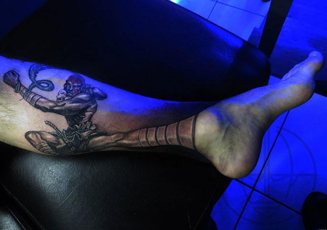 Δημιουργικά τατουάζ που αλληλεπιδρούν με το σώμα! (20)