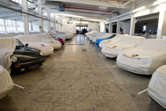 Εκπληκτική συλλογή από Porsche (1)