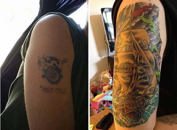 Εντυπωσιακές μετατροπές παλιών τατουάζ (10)