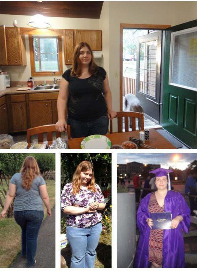 Έχασε 59 κιλά σε έναν χρόνο κι έγινε αγνώριστη (12)