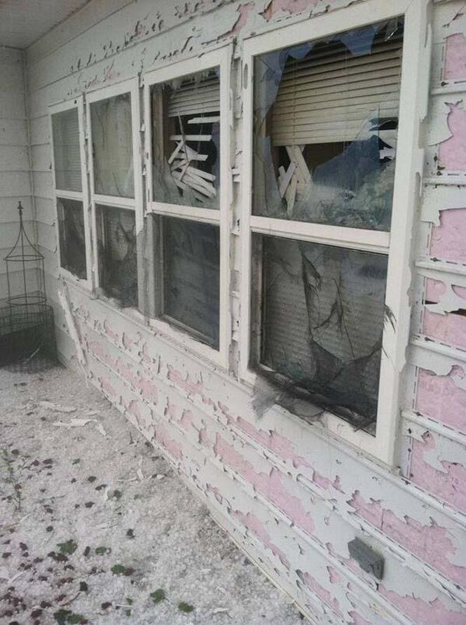 Καταστροφική χαλαζόπτωση στη Νεμπράσκα (12)