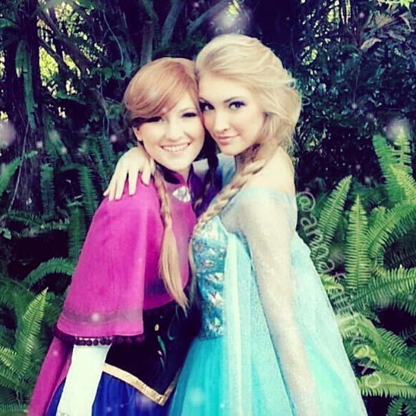 Η κοπέλα που έγινε γνωστή για την ομοιότητα της με την πριγκίπισσα του Frozen (5)