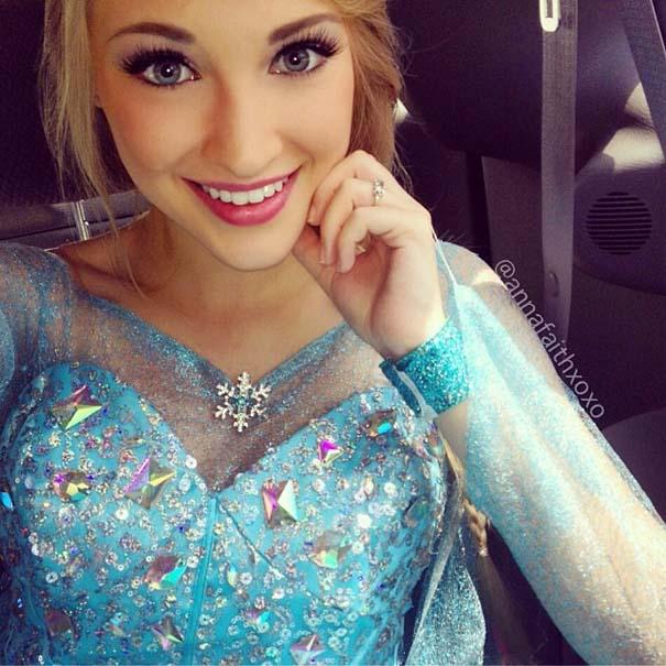 Η κοπέλα που έγινε γνωστή για την ομοιότητα της με την πριγκίπισσα του Frozen (3)