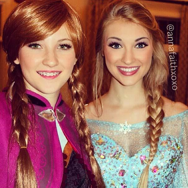 Η κοπέλα που έγινε γνωστή για την ομοιότητα της με την πριγκίπισσα του Frozen (6)
