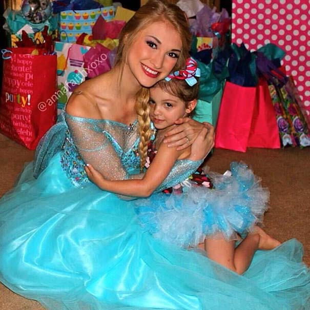 Η κοπέλα που έγινε γνωστή για την ομοιότητα της με την πριγκίπισσα του Frozen (4)