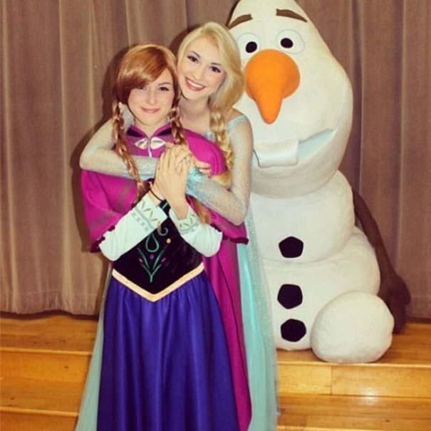 Η κοπέλα που έγινε γνωστή για την ομοιότητα της με την πριγκίπισσα του Frozen (7)