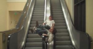 Τα μεγαλύτερα Fails σε κυλιόμενες σκάλες (Video)