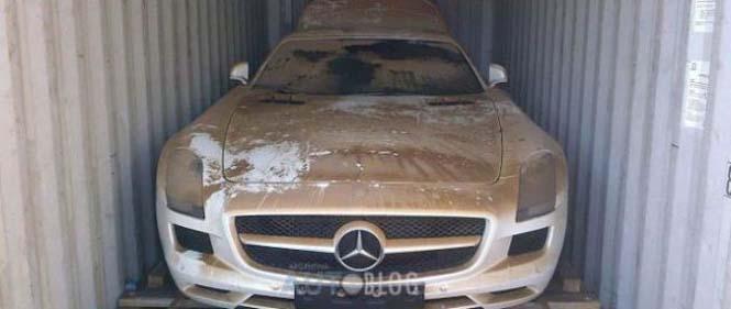 Mercedes είχε άδοξο τέλος (1)
