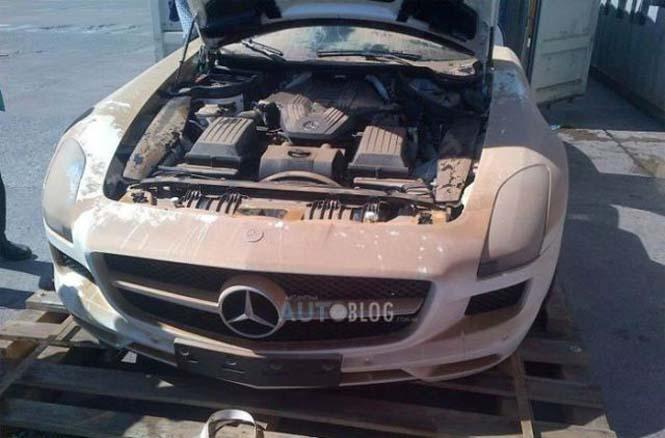 Mercedes είχε άδοξο τέλος (2)