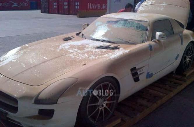 Mercedes είχε άδοξο τέλος (5)
