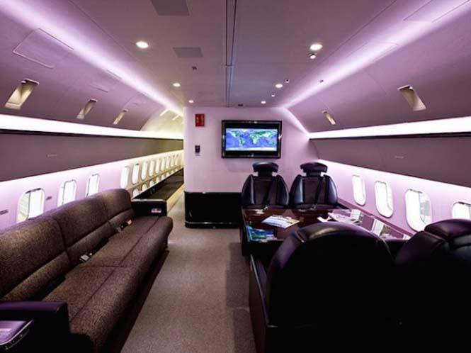 Μετατροπή Boeing σε πολυτελή χώρο διαβίωσης (2)