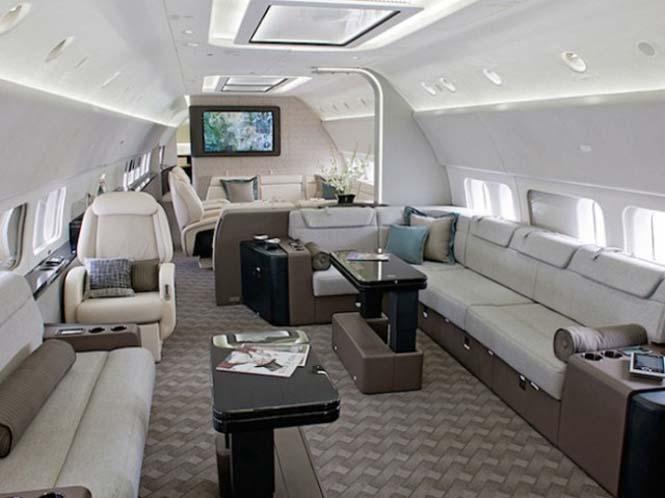 Μετατροπή Boeing σε πολυτελή χώρο διαβίωσης (3)