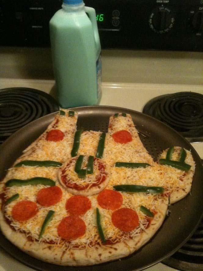 Όταν η πίτσα γίνεται... τρόπος έκφρασης (9)