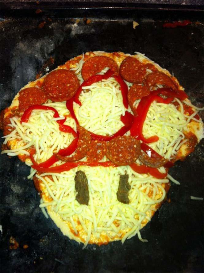 Όταν η πίτσα γίνεται... τρόπος έκφρασης (14)