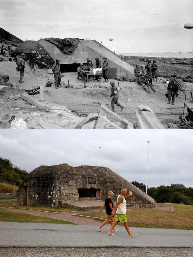 Οι παραλίες της Νορμανδίας το 1944 και σήμερα (9)