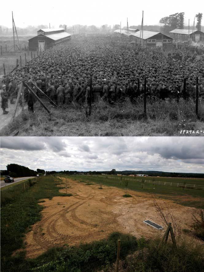 Οι παραλίες της Νορμανδίας το 1944 και σήμερα (14)