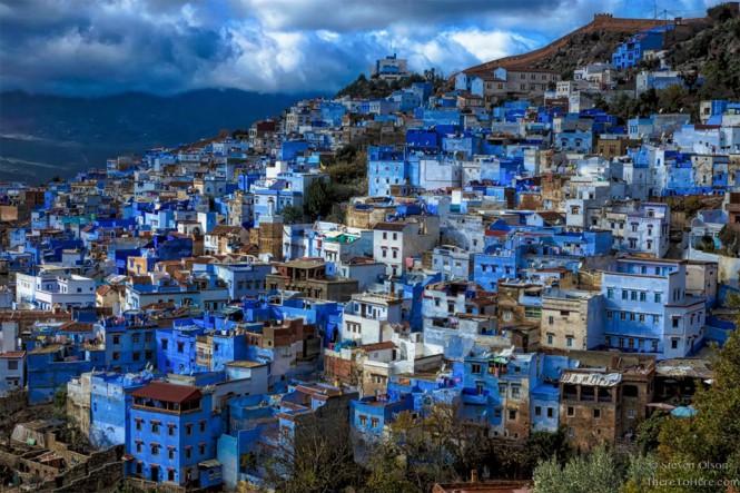 Η μπλε πόλη του Σεφσάουεν στο Μαρόκο   Φωτογραφία της ημέρας