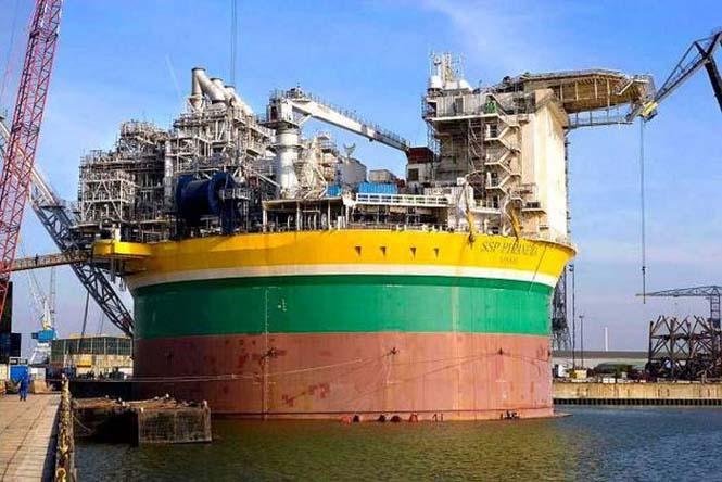 Πως κατασκευάζεται μια πλατφόρμα άντλησης πετρελαίου (15)