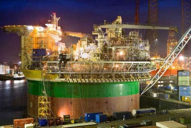 Πως κατασκευάζεται μια πλατφόρμα άντλησης πετρελαίου (16)